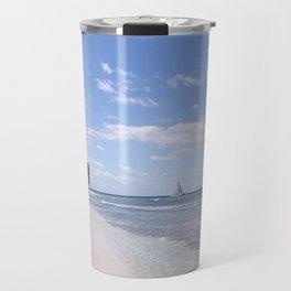 Stranded on Paradise Travel Mug