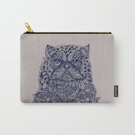 Mandala of Persian Cat Carry-All Pouch