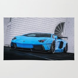 Lambo Aventador Rug