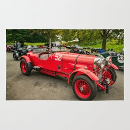 Vintage Motors Rug