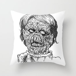 Evil Ed Throw Pillow