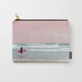 Surfer Heads Out III Carry-All Pouch