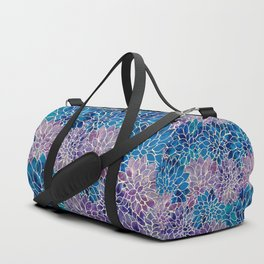 Floral Abstract 34 Duffle Bag