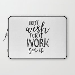MOTIVATIONAL WALL DECOR, Don't Wish For It Work For It,Work Hard Stay Humble,Be Kinds,Office Sign,Of Laptop Sleeve