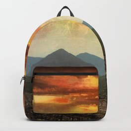 Sunset from Cripple Creek, Colorado, ca. 1899 Backpack