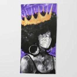 Naturally Queen II PURPLE Beach Towel