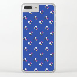 Gentle Berries Pattern Clear iPhone Case