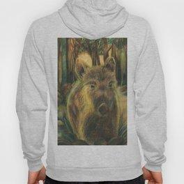 Wild pig in the wood Hoody