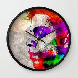 Prince Watercolor Wall Clock