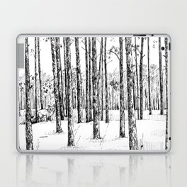 A fox in pine forest Laptop & iPad Skin