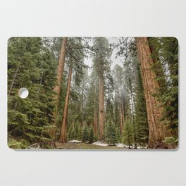Sequoias in the Fog Cutting Board