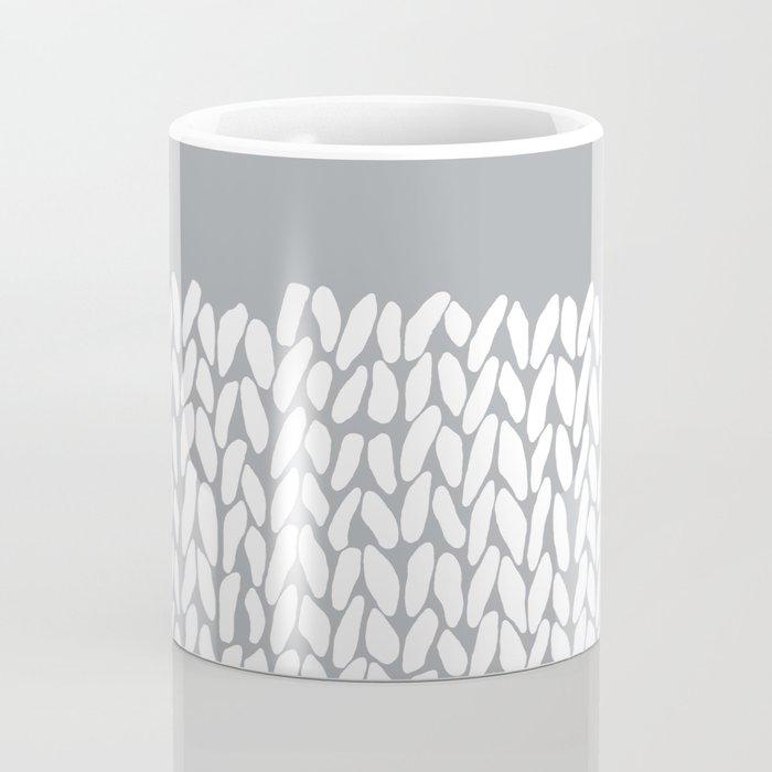 Half Knit Grey Coffee Mug