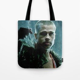 Tyler Durden Explains Project Mayhem - Fight Tote Bag