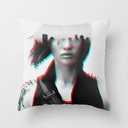 Mirror's Edge Catalyst v3 Throw Pillow