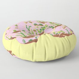 Brain Terrarium Floor Pillow