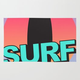 Surf every day Rug