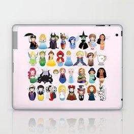 Cute kokeshis fairy tales Laptop & iPad Skin