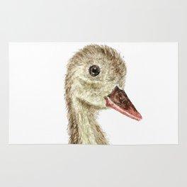 smiling little duck Rug