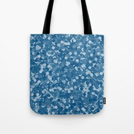 Snorkel Blue Polka Dot Bubbles Tote Bag