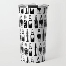 Vintage Beer Bottles Travel Mug