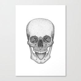 Silly Skull Canvas Print