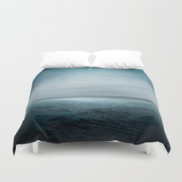 Sea Under Moonlight Duvet Cover