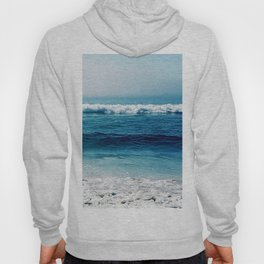 aqua foamy sea Hoody