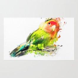 Lovebird Rug