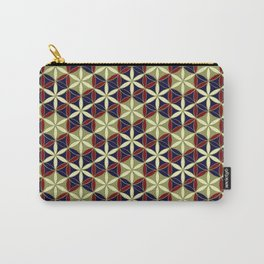 Flower of Life Pattern 11 Carry-All Pouch