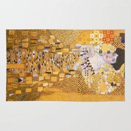 Gustav Klimt - The Woman in Gold Rug