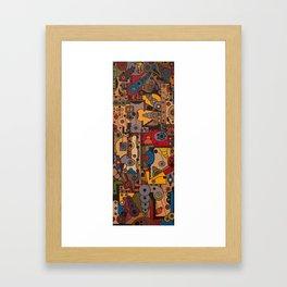 Original artwork Framed Art Print