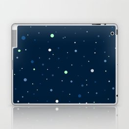 Blue and Green Cosmos Laptop & iPad Skin
