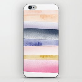 Brushstroke Ombre Abstract iPhone Skin
