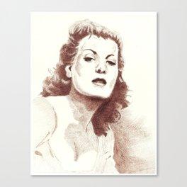 Maureen Canvas Print
