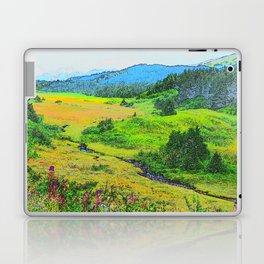 Alaska's Kenai Peninsula - Watercolor Laptop & iPad Skin