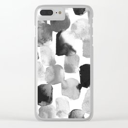 Gray Day Clear iPhone Case