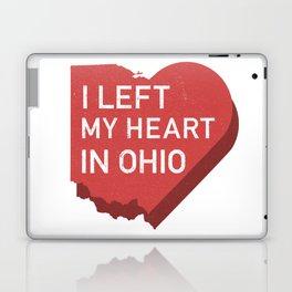 I Left My Heart In Ohio Laptop & iPad Skin