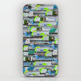 Locomotives - BLS Cargo - by Railcolor iPhone Skin