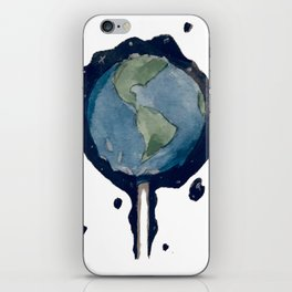 Earth Pop iPhone Skin