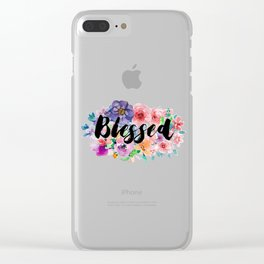 Blessed Clear iPhone Case