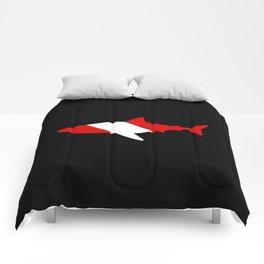 Diving Flag: Shark Comforters