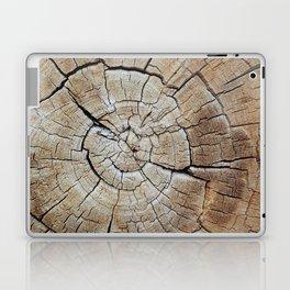 Tree rings of time Laptop & iPad Skin