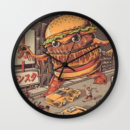 Burgerzilla Wall Clock