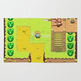 Pixel Art The Legend Of Zelda Breath Of The Wild Rug