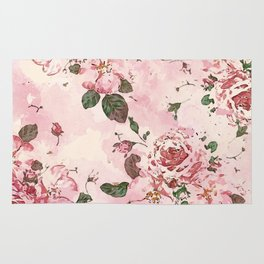 Roses Blossom Rug