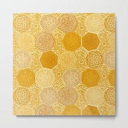 Saffron Souk Metal Print