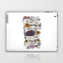 survive Laptop & iPad Skin