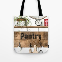 Pantry Shelf Tote Bag