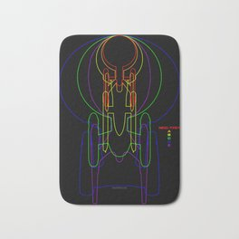 USS Enterprise Bath Mat