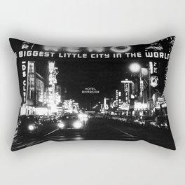 black city Rectangular Pillow